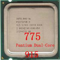 Wholesale 915 Pentium Dual Core CPU Intel year warranty