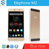 Wholesale Elephone M2 G LTE Cell Phone MTK6753 Bit Octa Core Andriod quot FHD GB RAM GB ROM MP Touch Smartphone