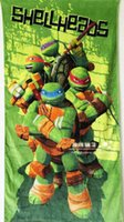 beach towels for kids - 72 CM Teenage Mutant Ninja Turtles cotton towels bathroom children beach towel kids bath towel Towels For Student Child