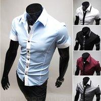 Cheap 2015 M-XXL Men Casual Short Shirt Mens Dress Shirts Polo Floral Print Mens Shirt Men's Long Sleeve Shirt Plaid Shirt Stitching