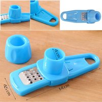 Wholesale Creative Colorful Simple Garlic Grind Ginger Device Kitchen Tools Mill