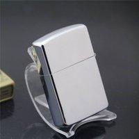 advertising lighters - Special mirror plate bright chrome kerosene lighter lighters in advertising preferred cigarette lighter Metal lighters