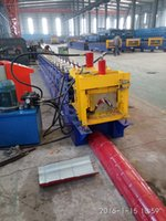 Wholesale 312 Ridge Cap Roll Forming Machine Automatic hydraulic Cutting Roll Forming Machine