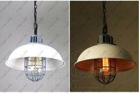 Wholesale Vintage Wrought iron Pendant Lamp Loft Retro Hanging Lights Edison Bulbs Birdcage Industrial Lighting Fixture