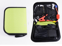 Wholesale Multi Function mAh Mini Car Jump Starter Car Battery Emergency Power Supply Portable Laptop Smart phone charger Power Bank