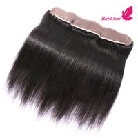 Wholesale Lace Frontal Closure X2 Cheap Brazilian Frontal Unprocessed Brazilian Straight Human Hair Lace Frontal Free Part