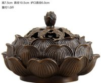 antique incense - Lotus Aromatherapy Antique Buddha Incense supplies Sandalwood incense incense burner stove dish Crafts Gifts