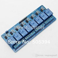 Wholesale 2015 V Eight Channel Relay Module With optocoupler Fr PIC AVR DSP ARM Arduino A5
