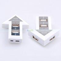 Universal   4 Ports Micro USB 2.0 HUB OTG HUB Arrow Design Adapter for Micro-USB OTG Function Phone&Computer