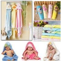 Wholesale 2014 Cotton High Quality cm Children s Embroidery Bathrobe Infants Towels Baby Kids Bath Towel BP17 order lt no tra