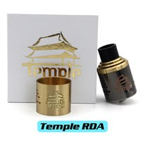 Cheap Vaporizer Temple RDA Best Rebuildable Dripping Atomizer
