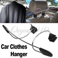 Wholesale Hot Convenient Car Auto Seat Headrest Clothes Coat Suit Pattern Metal Driver Passenger Vehicle Hanger