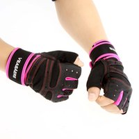 Wholesale Sports Weight Lifting Gym Gloves Fitness Training Workout Wrist Wrap Exercise Half Finger Glove For Men Women Multifunction