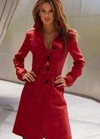 wool coat - 2014 new Slim waist cashmere wool coat windbreaker Wool Blends