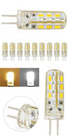 Wholesale New Arrivals AS a SET G4 SMD LED lighting lamp V W Warm White Color Home Decor HJ1