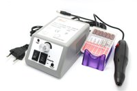 Wholesale Drop shipping Nail Art Equipment Manicure Tools Pedicure Acrylics Grey Electric Nail Drill Pen Machine Set Kit