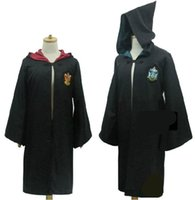 Wholesale Hot Sell New fashion Harry Potter Youth Adult School Harry Potter Gryffindor Slytherin ravenclaw Hufflepuff costumes