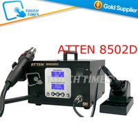 atten hot air - V ATTEN AT8502D Lead Free in Hot Air SMD Rework Station and Soldering Station Iron