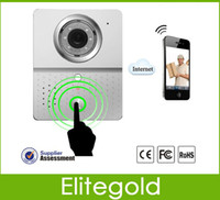 Wholesale Wifi Doorbell Camera Wireless Video Intercom Mobile Smart Phone Control IP Door Phone Connect To IOS And Andriod Pc DHL Fast Shipping
