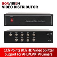 HD-108 analog video splitter - 1 Channel Points Channel AHD HDCVI HDTVI Analog HD Video Splitter BNC Output Max To m Support Resolution Or