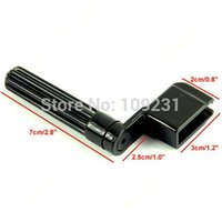Wholesale New high quality Acoustic Electric Guitar String Winder Peg Bridge Pin Tool Plastic Black T1370 W0