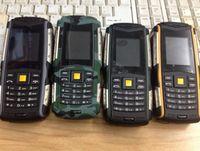 Wholesale L6 IP67 Real Waterproof Mobile Phone mAh GSM dual Sim Bluetooth Shock Dustproof Russian Language FREE DHL