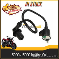 go kart engines - 12V High performance racing Ignition coil Fit cc cc Chinese made GY6 QMJ QMI157 QMJ QMI Engine Scooter ATV Moped Go Kart Models