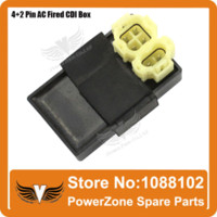 Cheap GY6 50cc 125cc 150cc Scooter Moped Motorcycle Ignition Coil + CDI UNIT + 4Pin Rectifier Regulator + Solenoid Relay Free Shipping