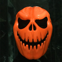 Wholesale 2015 Hot Sale Scary Pumpkin Face Halloween Masquerade Mime Mask Ball Party Costume Masks