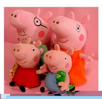 baby pigs sale - cm pink pig friend family plush toy sales set pink doll pig stuffed animals Brinquedos baby toys
