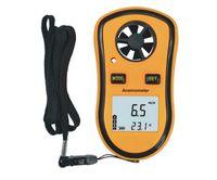 Wholesale LCD Digital Hand held Wind Speed Gauge Meter Measure Anemometer Thermometer Wind Thermo Handheld Anemometer