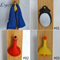 Wholesale Cute Animal Style Suction Cup Hanger Hook for Bathroom Towel Robe Hooks