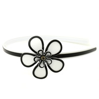 big hair flowers - GUST Brand Women Fashion Girl Simple Ladies Handmade Acrylic Purity Big Flower Accessories Hair Jewelry Headband H162
