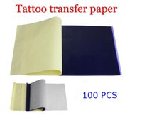 Wholesale Master Tattoo Stencil Transfer Paper Carbon Outline Needles Supplies new for russian spain