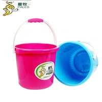 Wholesale Water Storage Plastic Bucket household Ultralarge Capacity Hot sale L Red Mutil Use Kitchen Washing holder