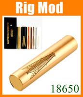 En acier inoxydable de Nemesis 18650 Machanical Mod Rig Mod Manhattan Chevalier Fuhattan Pegasus 4 neuf cigarette électronique mods Cuivre Blanc Noir TZ222