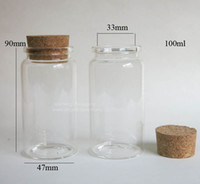 glass bottle with cork - x ml glass bottle with wood cork empty corked glass jar glass container with cork Item no