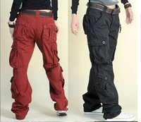 Wholesale Women s Designer Hip Hop Hiphop Pants Cargo Dance Pants Baggy Trousers For Woman