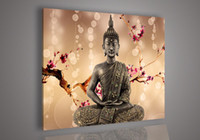 Wholesale Religion Buddha Wall Art Oil Painting On Canvas Paint Living Room Painting No Frame