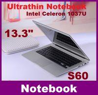 Wholesale 13 inch laptop computer intel Celeron U GHZ Dual Core GB GB windows camera laptop notebook Resolution HDMI DHLFREE