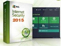 Cheap 24h sent AVG Internet Security 2015 Antivirus Software 4 Years 3PC 3user keys multi language