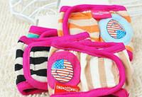 Ropa interior 100pcs Nueva Mascota Shorts Sanitarias perro masculino pañal precioso color al azar 5 Tamaños