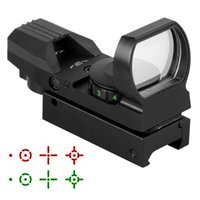 Wholesale Hunting Tactical Reflex Holographic Red Green Reticle Sight Dot Rail Mount L0799