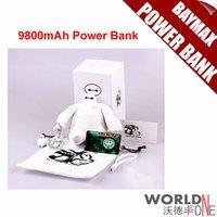 El más reciente Baymax Gran Héroe 6 Power Bank Baymax 9800mAh Carga Fuente de alimentación móvil Cargador portátil