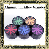 alloy window - Top Quality Grinders mm Aluminium Alloy Grinders With Clear Top Window Lighting Tooth Pieces Grinder Colors