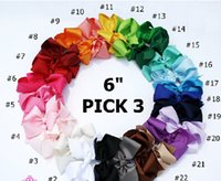 big hair bows - 6 quot Big Baby Hair Bows With clip Hair BowBaby Hair Bow Extra Large Hair Bow Hair Bow Hair Bow