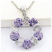 aa promises - 50 Off Jewelry SX009 AA Quality Fashion Austria Element Forever Promise Crystal Wreath Necklace
