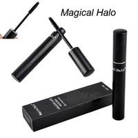 amazing mascara - Magical Halo Amazing Lash Mascara New Brand Makeup Eyelash Mascara Set Large Volum Black Mascara