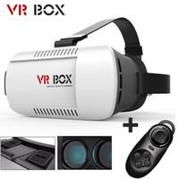 Wholesale Christmas Google Cardboard Original xiaozhai Brand VR BOX Virtual Reality D Glasses for Phone Bluetooth Controller