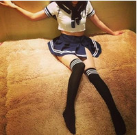 Wholesale Lingerie students college students uniforms temptations pure schoolgirl uniforms suits